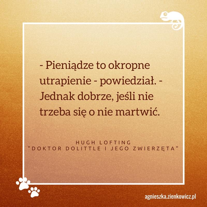 Doktor Dolittle cytat